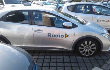 Autobeschriftung Radio L
